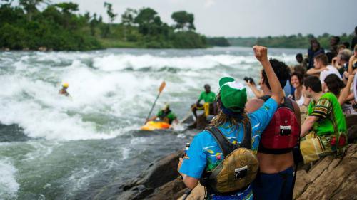 Nile spetial. Uganda. Frestyle competition